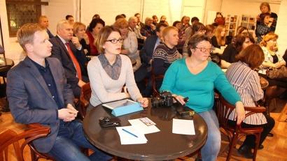 Посетителями «Исторического кафе» стали школьники, студенты, представители науки и общественности