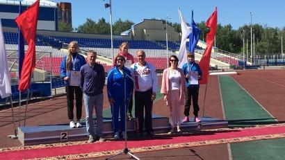 Награждение спортсменов в Йошкар-Оле