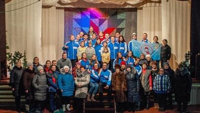Няндомский район впервые принимал участников акции «Полярный десант». В этом году в районе побывал отряд  «Снеговик»