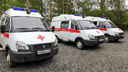 Новодвинская больница получила три машины скорой помощи, ещё десять получит Северодвинск