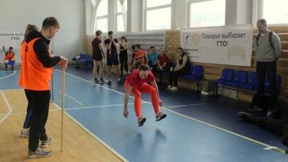 Региональный этап спартакиады школьников Архангельской области «Я выбираю ГТО» прошёл в спорткомплексе «Норд Арена»