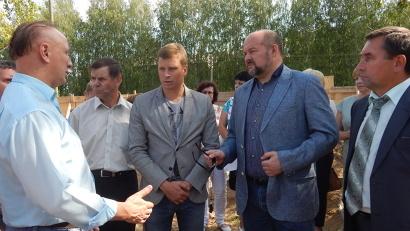Игорь Орлов: «Строительство социальных объектов - в приоритете правительства Архангельской области»