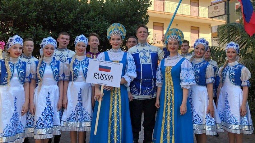 Фото из архива народного ансамбля песни и пляски «Сиверко»