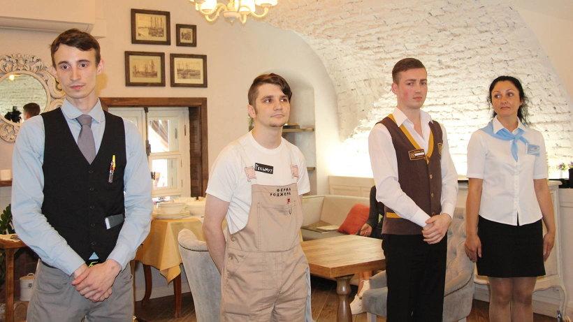 В конкурсе принимают участие лучшие официанты из Архангельска и Северодвинска