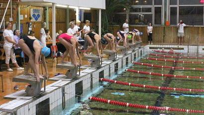 На соревнования приехали около 150 сильнейших юных пловцов из Архангельска, Северодвинска, Коряжмы, Котласа и Мирного