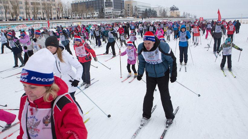 Около пяти тысяч северян стали участниками «Лыжни России-2018» в Архангельске