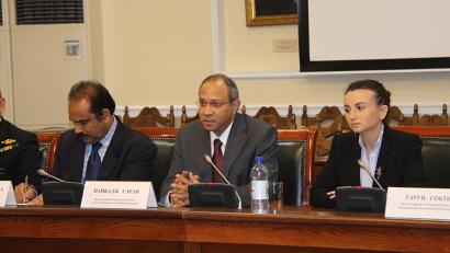 Чрезвычайный и Полномочный Посол Республики Индия в Российской Федерации господин Саран Панкадж подтвердил важность развития сотрудничества с Поморьем