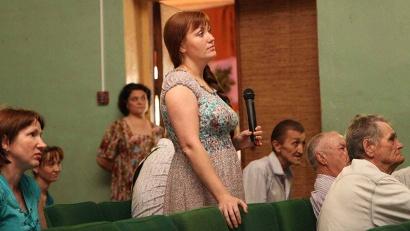 Маму двоих детей Екатерину Щурову беспокоит отсутствие в районе детского стоматолога