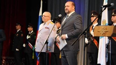 Губернатор Архангельской области Игорь Орлов и начальник регионального УМВД Сергей Волчков