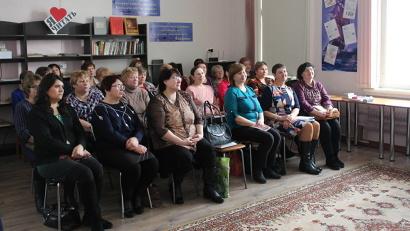 Семинар библиотекарей, организованный Вельским музеем. Фото предоставлено министерством культуры Архангельской области