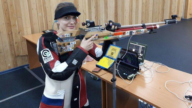 Спортсменка изУдмуртии стала 2-ой навсероссийских соревнованиях пострельбе
