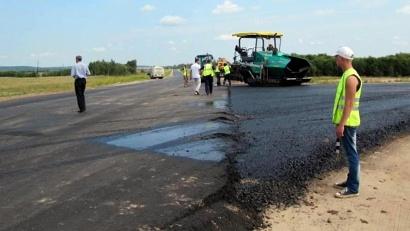 В этом году работы продолжаются на самом сложном участке длиной почти в шесть километров. Фото пресс-службы «Архавтодора»
