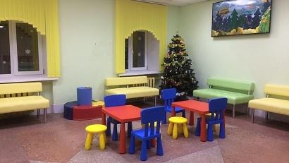 Для детей созданы игровые зоны