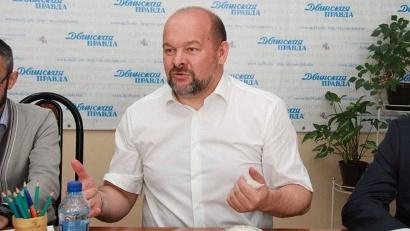 Игорь Орлов в гостях у редакции «Двинской правды»