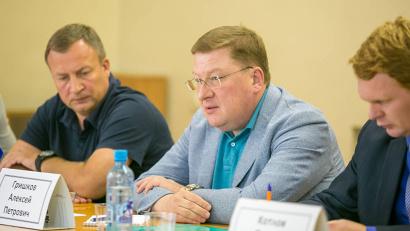 Заместитель губернатора по экономике и финансам Алексей Гришков
