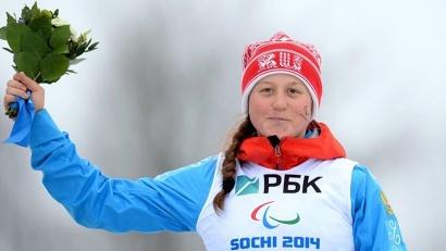 Двукратный бронзовый призёр Паралимпиады-2014 в Сочи Наталья Братюк