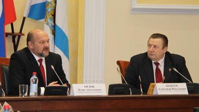 Игорь Орлов рассказал о проектах региона в ЛПК, транспорте, агропроме