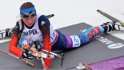 Заслуженный мастер спорта России Наталья Братюк