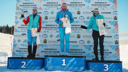 Наталья Непряева - золото, Алиса Жамбаева - серебро, Габриэлла Калугер - бронза