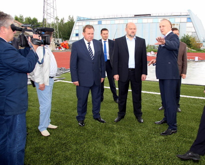 Андрей Шестаков доложил Игорю Орлову о работе с подрядчиком