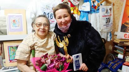 Наталья Алексеева с Еленой Доценко