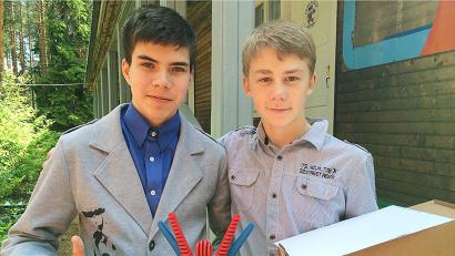 Донат Пачин и Александр Мошкин представят наш регион на всероссийском «Лидере»