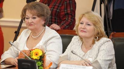 Авторы социального проекта «Соловецкие юнги» Галина Валова и Ольга Павловцева