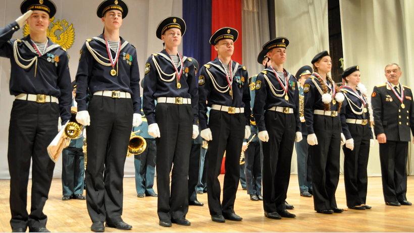 Команда Архангельского морского кадетского корпуса  стала абсолютным победителем смотра-конкурса