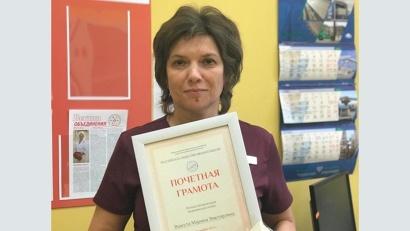 Марина Вашута – победитель конкурса «Лучшая неонатальная медицинская сестра»