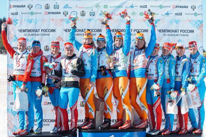 Чемпионами России стали Лали Кварацхелия, Полина Ковалёва, Ксения Малёванная и Юлия Романова