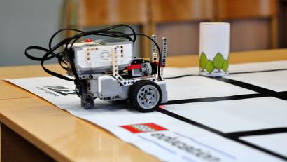 Робот готов к выполнению задания