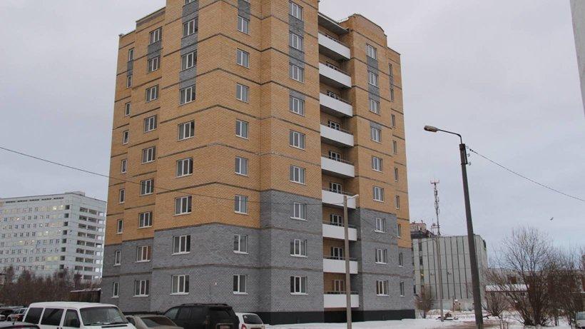 В новой девятиэтажке 54 квартиры – 36 однокомнатных и 18 двухкомнатных