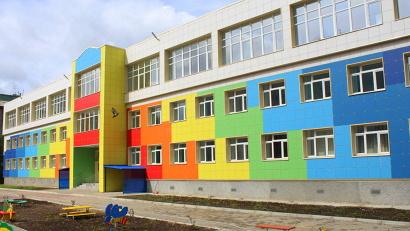 Обновлённый детский сад стал украшением округа