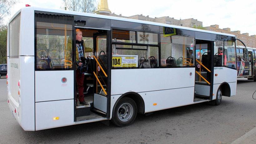 12 мая новые автобусы вышли на