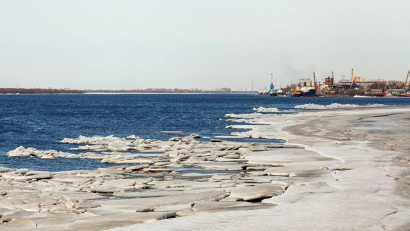 В областном центре голову ледохода ожидают в конце апреля