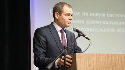 Заместитель министра природных ресурсов и ЛПК Архангельской области Виталий Гниденко. Фото: П. Кононов