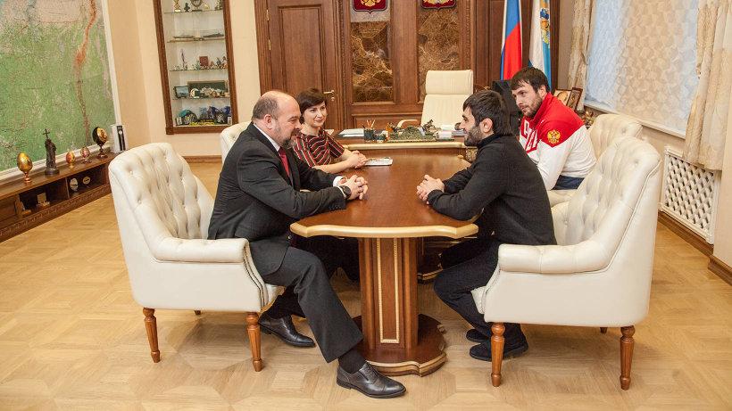 Игорь Орлов встретился с Бесланом Мудрановым и Ренатом Саидовым
