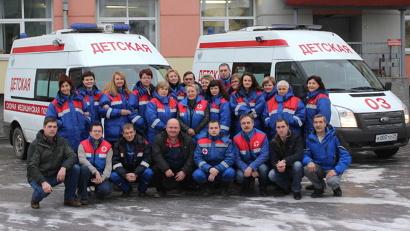 Сегодня педиатрические бригады скорой помощи – самое крупное специализированное подразделение Архангельской станции СМП