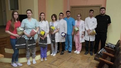 В онкодиспансере приступили к работе молодые специалисты