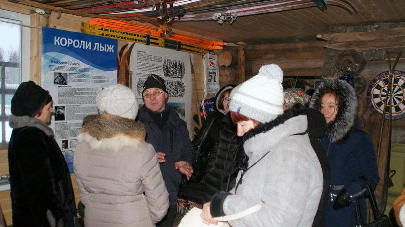 ТОС«Спортивная Сиреневая»  создал в Каргополе музей лыж