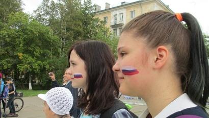 Российский триколор - символ, объединяющий миллионы людей!