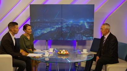 Мансур Салахутдинов в программе «Вечерний Архангельск» на канале «Россия 24 Поморье», начало в 21:00