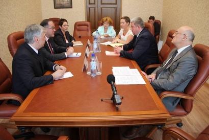 Участники встречи обсудили подготовку к празднованию 75-летия северных конвоев