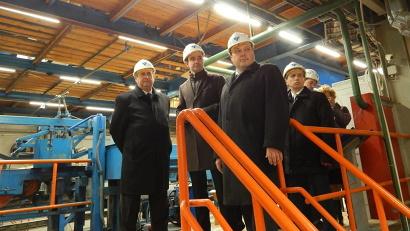 Делегация Республики Беларусь ознакомилась с работой одного из ведущих предприятий лесопильной отрасли России – ЗАО «Лесозавод 25»