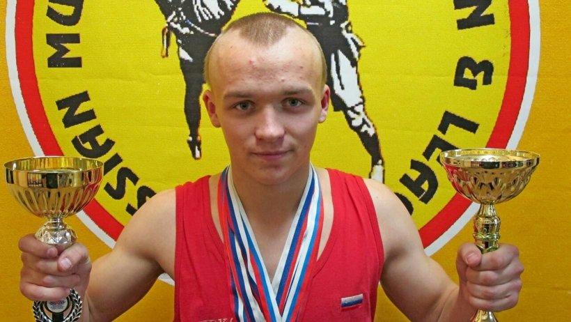 Илья Шванев, бронзовый призёр чемпионата Европы по савату