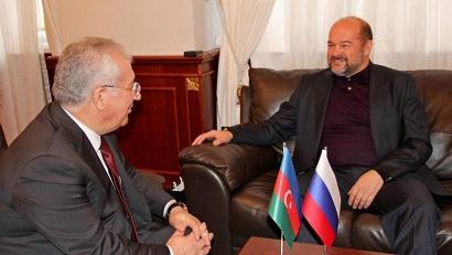 Игорь Орлов и министр сельского хозяйства Азербайджана Гейдар Асадов обсудили увеличение торгового оборота в части продукции аграрного сектора