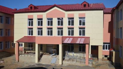 Новое здание школы в Урдоме планируют сдать уже в этом году. Фото газеты «Маяк»
