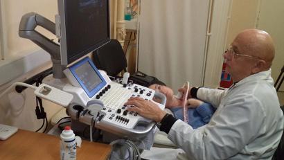Заведующий отделением лучевой диагностики Северодвинской городской больницы №1 Алексей Пасынков.Фото: пресс-служба СГБ-1