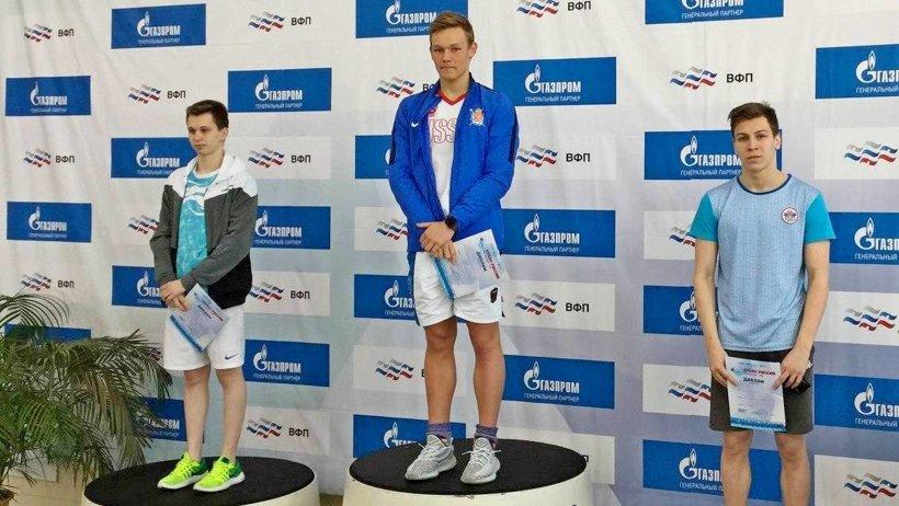 Астраханцы завоевали полный комплект наград наКубке Российской Федерации поплаванию