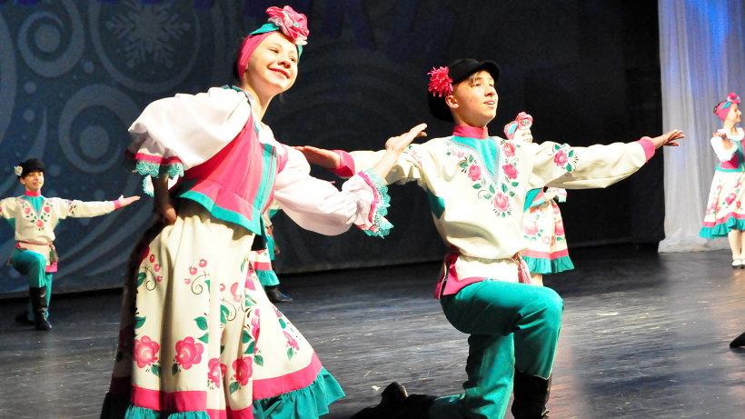В ходе гала-концерта зрители смогли увидеть лучшие фестивальные номера